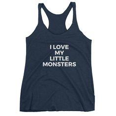 I Love My Little Monsters