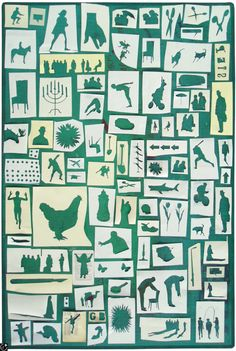 """debutart: """" Martin O'Neill's collage offcuts. LOVELY """""""