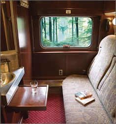"""Travel Cross Country by train in a sleeper car. My parents and I came back on the train  from California during major airplane strike in 1967. It was cool. I played cards in the lounge car with a couple sailors for hours and drove my Dad crazy! Met Jim Bakkus in the observation car - he was grumpy! Had fun (and took a couple weeks to get over my crush on """"Ed"""")."""