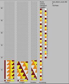 tubular bead crochet rope - 8 around