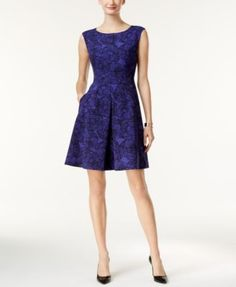 Anne Klein Pocketed Fit & Flare Dress $89.99 Super-cute and essential too! Anne Klein's chic fit & flare dress is finished with on-seam pockets.