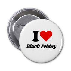 I love heart Black Friday Pin #thanksgiving #blackfriday