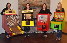 Cool and Realistic Arcade Games Group Theme... Coolest Halloween Costume Contest