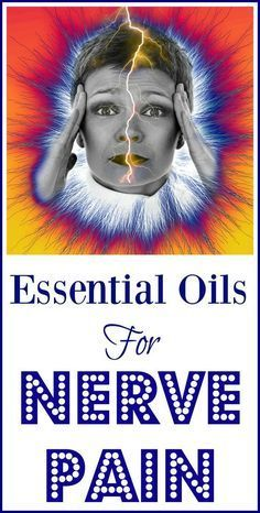 Using essential oils for nerve pain.