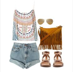 Boho chic...minus the purse