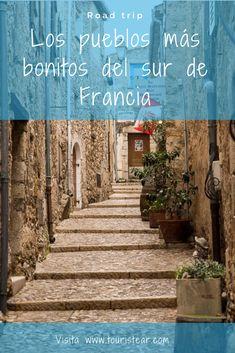 Conoce los pueblos más bonitos de Francia en una ruta en coche que te enamorará. #SurdeFrancia #CostaAzul #Francia Stuff To Do, Things To Do, French Riviera, Around The Worlds, Europe, Paris, Road Trips, Travelling, Tips