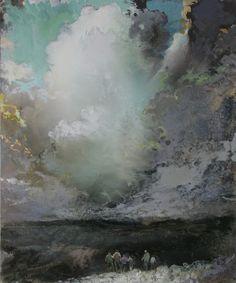 Tuomo Saali: Brotherhood, 2011, Oil on canvas.
