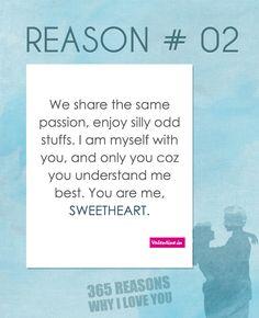 Reasons why I love you #2