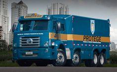 Descargar fondos de pantalla Volkswagen Constellation 24280 8x2 Protegido, 4k, 2017 camiones, equipos especiales, camiones blindados, Volkswagen