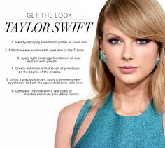 Taylor Swift 2015 Grammy Awards - 15 Celeb-Inspired Makeup Tutorials to Copy Right Now | GleamItUp