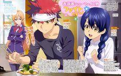 Takumi Aldini protagoniza el quinto anuncio del Anime Shokugeki no Soma.