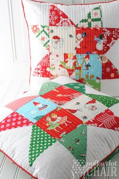A list of handmade Christmas sewing projects including stockings, ornaments, pillows, gifts, and table runners.