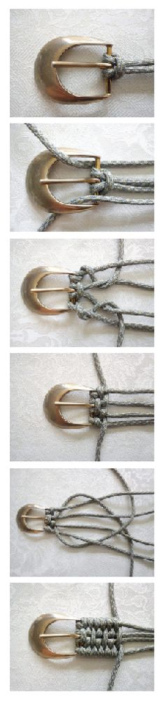Weaving Belt Tutorial #diy