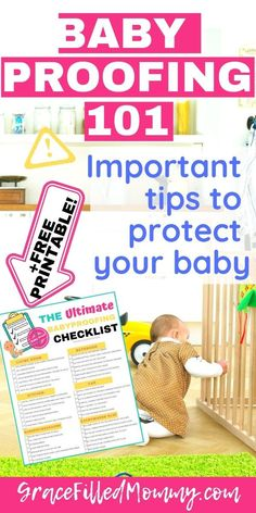 One of the most important things to learn as parents is how to baby proof the house because of course, their safety is our concern. Parenting Toddlers, Parenting Advice, Bringing Baby Home, Pregnancy Advice, Baby Care Tips, Mom Advice, Baby Safe, Free Baby Stuff, Safety Tips