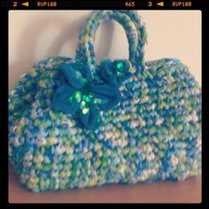 Fettuccia bag crochet
