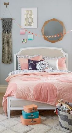 Polka Dots make everything better. Our Pink Polka Dot Bedding is no exception. The quilt and sham sport a combination of applique and embroidered spots for a bold look.