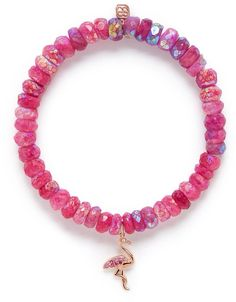 The sweetest flamingo bracelet