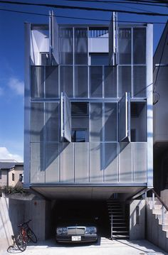 Steel House, Tokyo, Japan by MDS Architects.