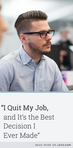 Read the inspiring stories of three successful people who quit their jobs and…