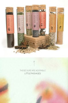 Nice herb + spice packaging                                                                                                                                                     More