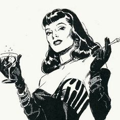 Rip Kirby by Alex Raymond Pin Up Vintage, Vintage Art, Bettie Page, Comic Book Artists, Comic Books Art, Cartoon Pencil Sketches, Illustrations, Illustration Art, Dibujos Pin Up