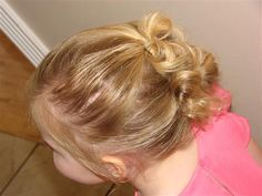 toddler girl hairstyle-so cute!