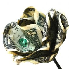 Give your graduate flowers that they really want! Make a rose out of dollar bills. This is a cute graduation gift!