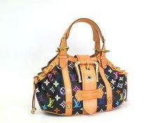 Auth Louis Vuitton Theda GM Handbag Monogram Multicolor Noir M92345) BF047821 | eBay