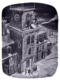 Classic Charles Addams - Merry Christmas