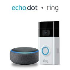 6c782f187fc Ring Video Doorbell 2 with Echo Dot Gen) - Charcoal  Electronics  New  Releases - Early Bird Special