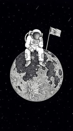 lonely astronaut Wallpaper by susbulut - - Free on ZEDGE™ Space Artwork, Space Drawings, Wallpaper Space, Dark Wallpaper, Galaxy Wallpaper, Iphone Wallpaper, Art Drawings, Astronaut Drawing, Astronaut Tattoo