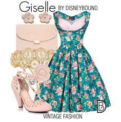 Giselle Disneybound | Enchanted