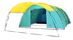 Blue Ridge Family Outfitters 6 person Summer Camping Tent  Spacious  Waterproof 139Wx66Hx219L * You can find out more details at the link of the image.