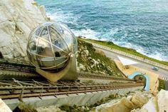 Un ascensor con vistas (Monte de San Pedro, A Coruña) Places In Spain, Places To Visit, Jet Privé, Basque Country, Spain And Portugal, Spain Travel, Travel Around, Adventure Travel, The Good Place