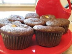 Self-Filled cupcakes from 'The Pink Apron'
