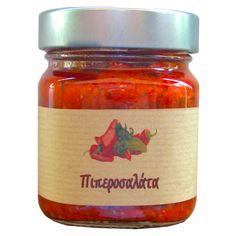 ΠΙΠΕΡΟΣΑΛΑΤΑ Spreads, Salsa, Jar, Sauces, Food, Gourmet, Dips, Eten, Jars