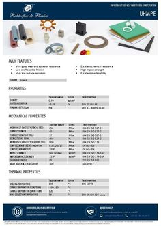 Meer datasheets kunststof online | Op Ridderflex.nl zijn steeds meer datasheets van kunststof beschikbaar. Deze databladen zijn een belangrijk onderdeel van onze productcatalogus. We bieden ze aan in PDF-vorm en ze zijn vanaf de website te downloaden.