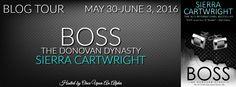 Renee Entress's Blog: [Blog Tour] Boss by Sierra Cartwright