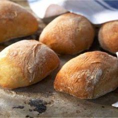 Yummy Treats, Yummy Food, Ciabatta, Bread Baking, Pain, I Foods, Italian Recipes, Bread Recipes, Cravings