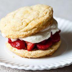 James Beard's Strawberry Shortcakes recipe on Food52