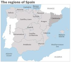 30x20 printable world map countries names us states canadian tensions simmer in spain in the countdown to a disputed independence vote by catalonia nears heres what it means for investors and for the countrys gumiabroncs Images