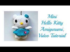 MADRES HIPERACTIVAS: manualidades y DIY con y para niños: Llavero Amigurumi Mini Hello Kitty
