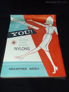 Antiques Atlas - 1960's Seamfree Bry-Nylon Stockings