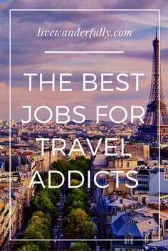 Full time travel doesn't mean you have to quit your job and give up your income. Check out these careers that will fit perfectly with your lifestyle!