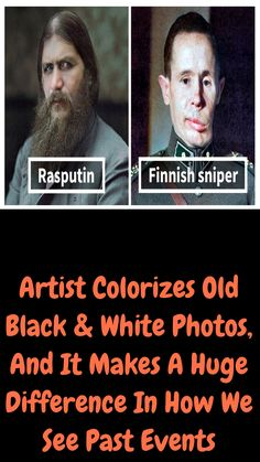 Artist Colorizes Old Black & White Photos, And It Makes A Huge Difference In How We See Past Events Weird History Facts, Weird Facts, Fun Facts, Famous Historical Figures, Historical Photos, Historical Fun, Ap Us History, History Photos, Interesting History