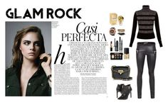 """""""GlamRock Style"""" by dellaila on Polyvore featuring Bella Freud, Glam Rock, Les Chiffoniers, Bare Escentuals, Clinique, BCBGeneration, Bobbi Brown Cosmetics, Whiteley, NARS Cosmetics and Assad Mounser"""