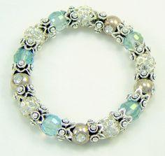 Luxury crystal bracelet Pearl