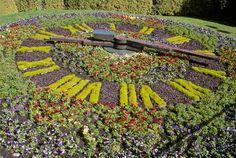 Floral clock, Christchurch