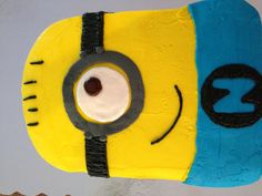 Minion Cake-Owen's 9th birthday