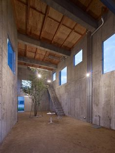 House in Yagi by Suppose Design Office / minimalist concrete house in Hiroshima. Paint & furniture would help with the grim.
